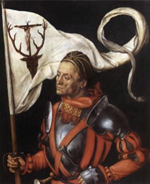 St. Eustace by Albrecht Durer